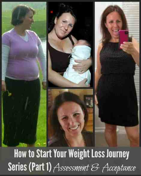 How to Start Your Weight Loss Journey 6 Part Series. Part 1: Assessment and Acceptance