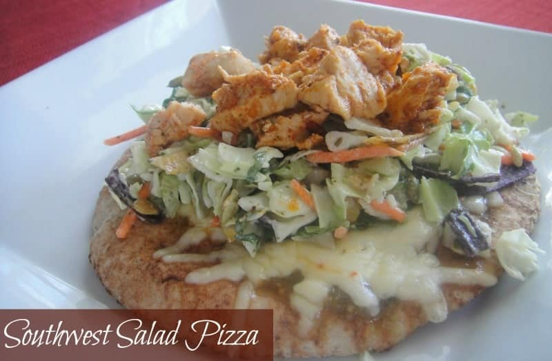 Southwest Salad Pizza