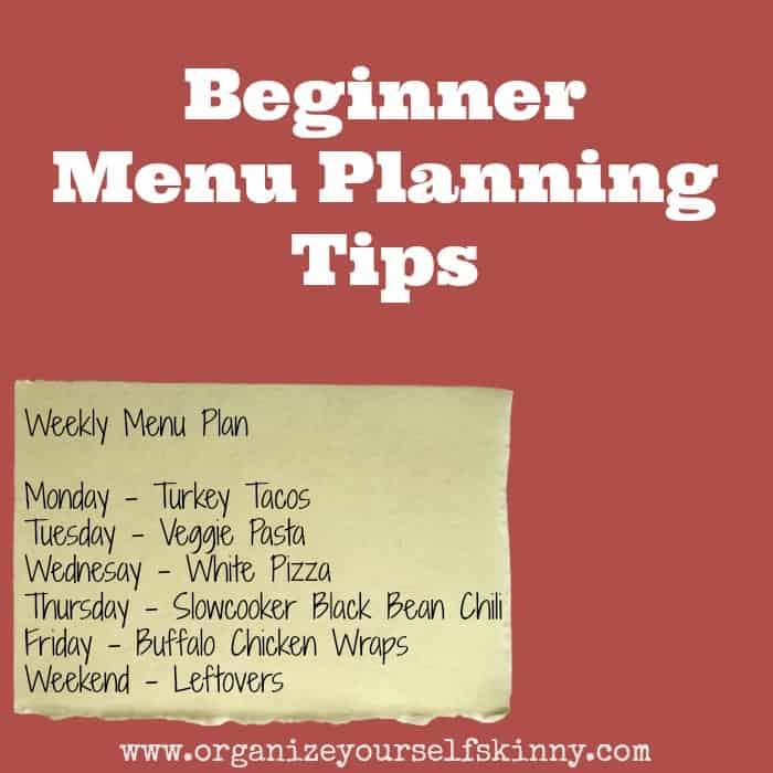 beginnermenuplanningtips