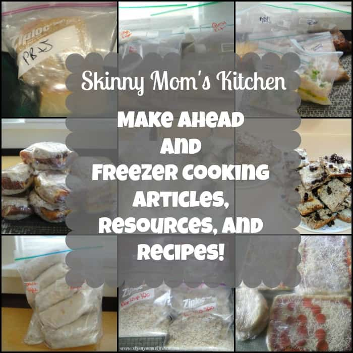 Make Ahead and Freezer Cooking