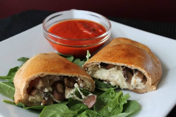 Chicken Sausage And Mushroom Calzones Organize Yourself