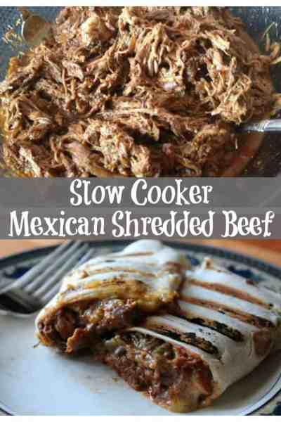 Slow Cooker Mexican Shredded Beef Freezer Meal Starter