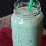 Peanut Butter and Banana Green Smoothie