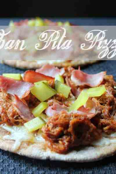Cuban Pita Pizza