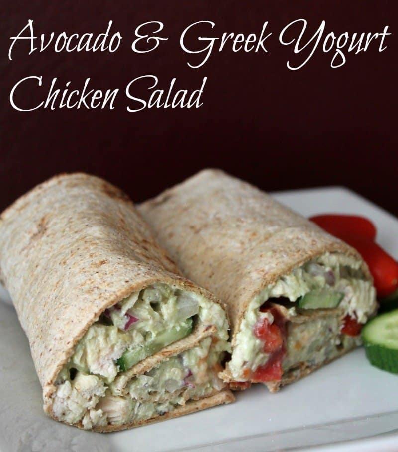 Avocado and Greek Yogurt Chicken Salad Recipe