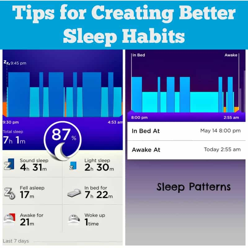 Tips for Creating Better Sleep Habits