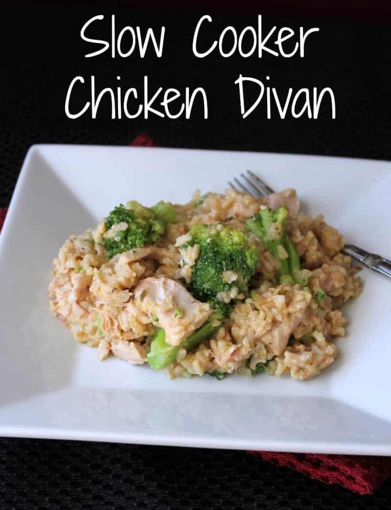 Slow Cooker Chicken Divan  414 calories