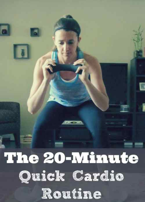 The 20-Minute Quick Cardio Routine