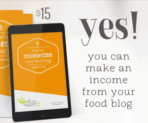How to Make an Income off your food blog
