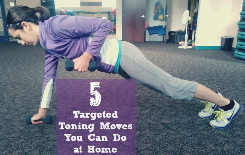5 Targeted Toning Moves You Can Do at Home