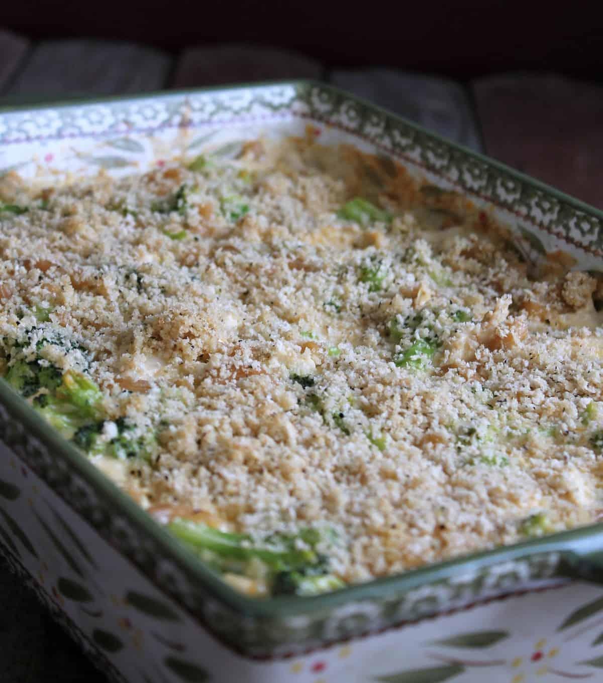 Broccoli, Chicken, And Cheese Pasta Bake - Organize -7047
