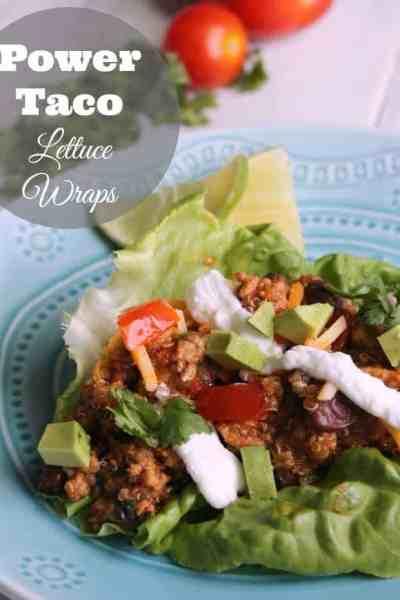 Power Taco Lettuce Wraps