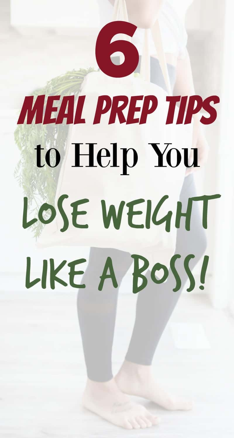 6 Meal Prep Tips For Weight Loss Organize Yourself Skinny