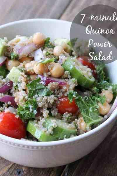 7-minute Quinoa Power Salad