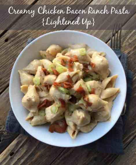 Creamy Chicken Bacon Ranch Pasta Skillet Recipe