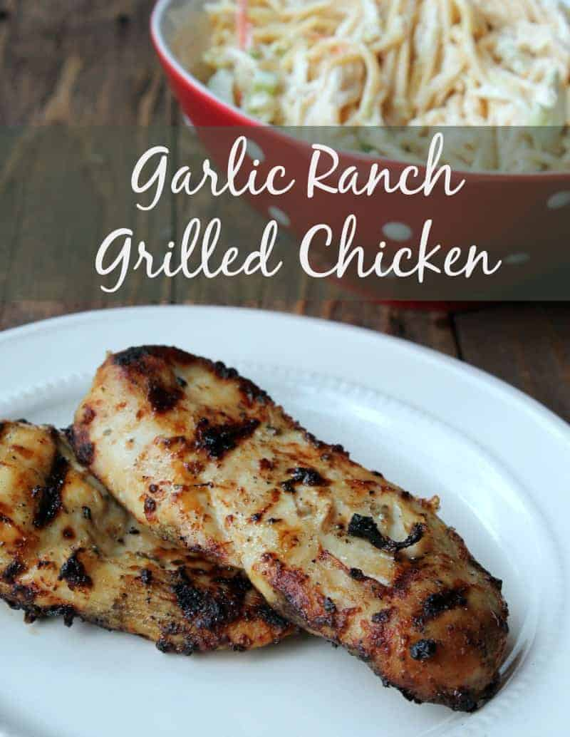 Garlic Ranch Grilled Chicken Organize Yourself Skinny