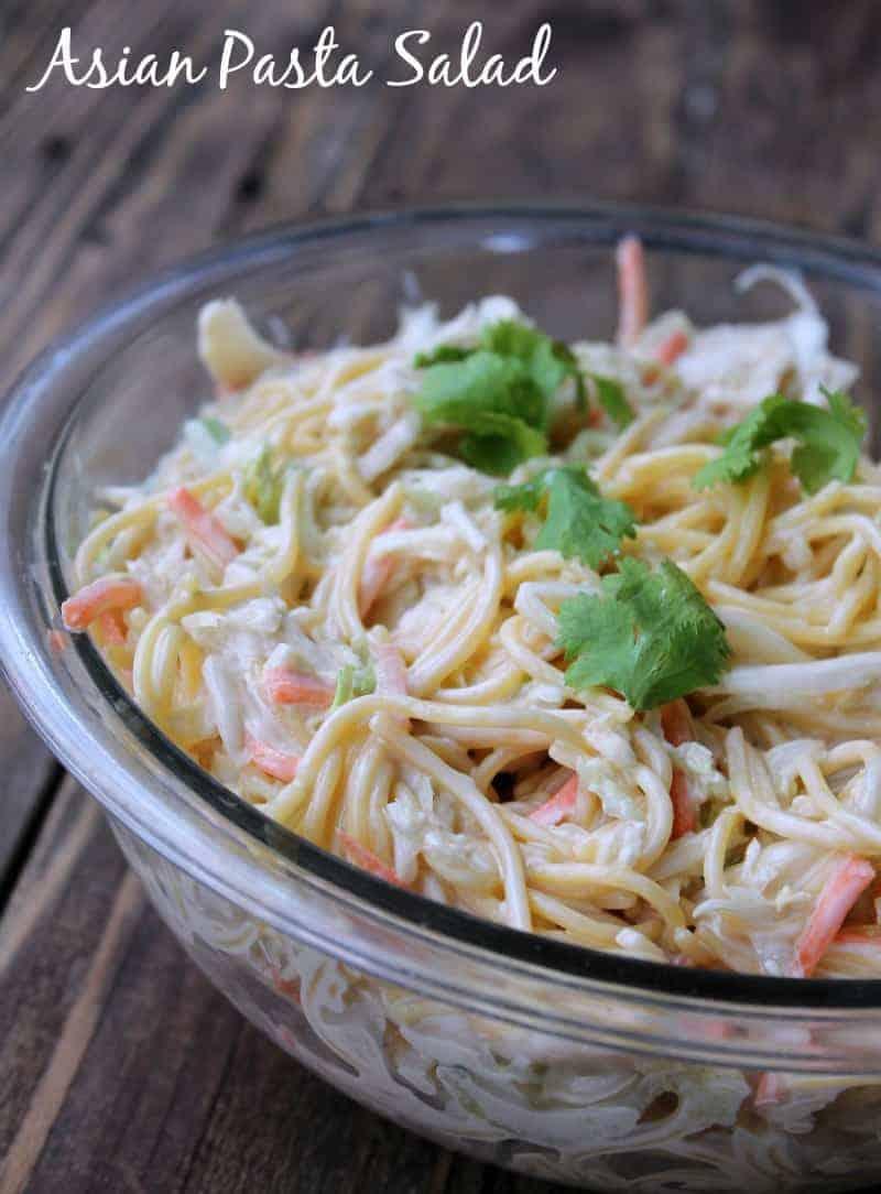 Have hit recipe asian spaghetti noodle salad please