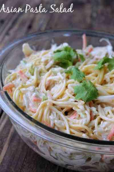 Asian Pasta Salad #Healthiersideofmayo