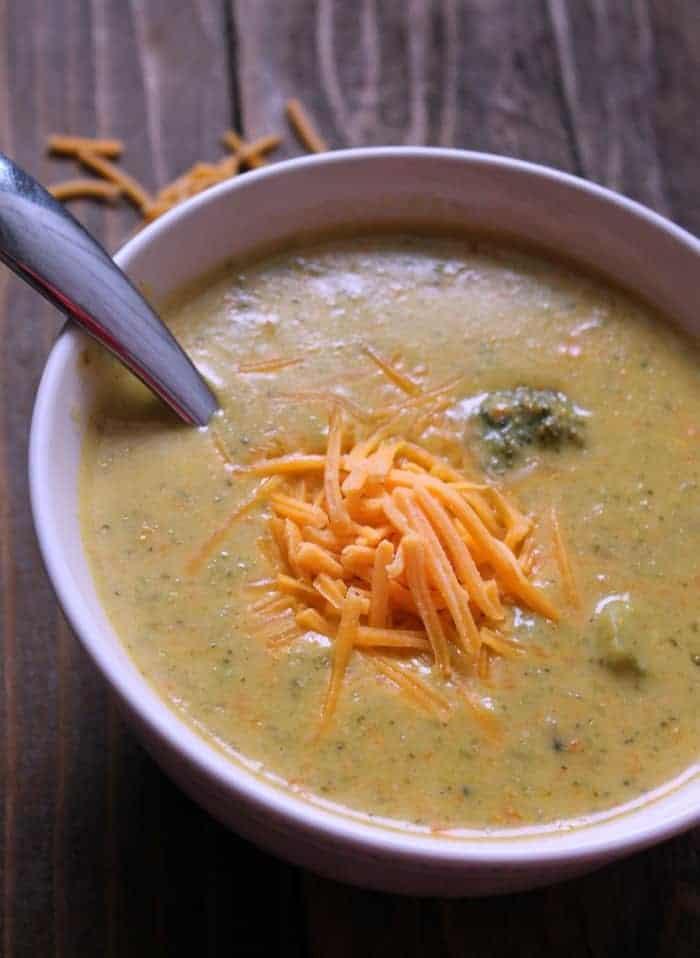 Broccoli Cheese Soup: Copycat Panera Recipe