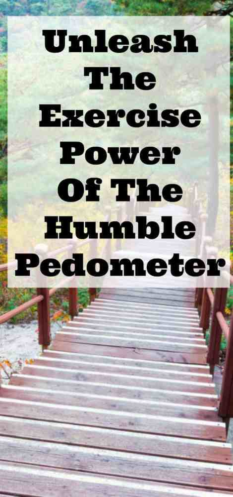 Unleash the Exercise Power of the Humble Pedometer