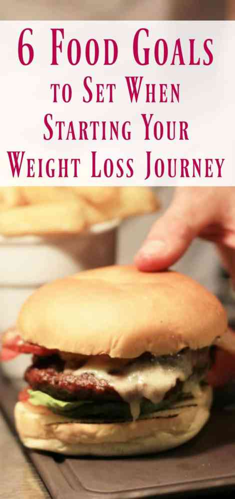 6 Food Goals to Set When Starting Your Weight Loss Journey