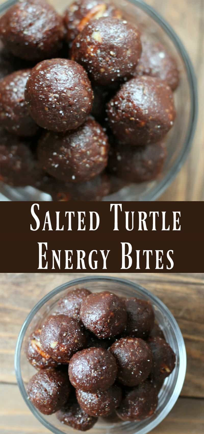 Healthy Salted Turtle Energy Bite recipe