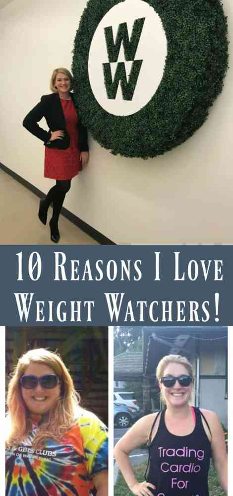 10 reasons I love weight watchers