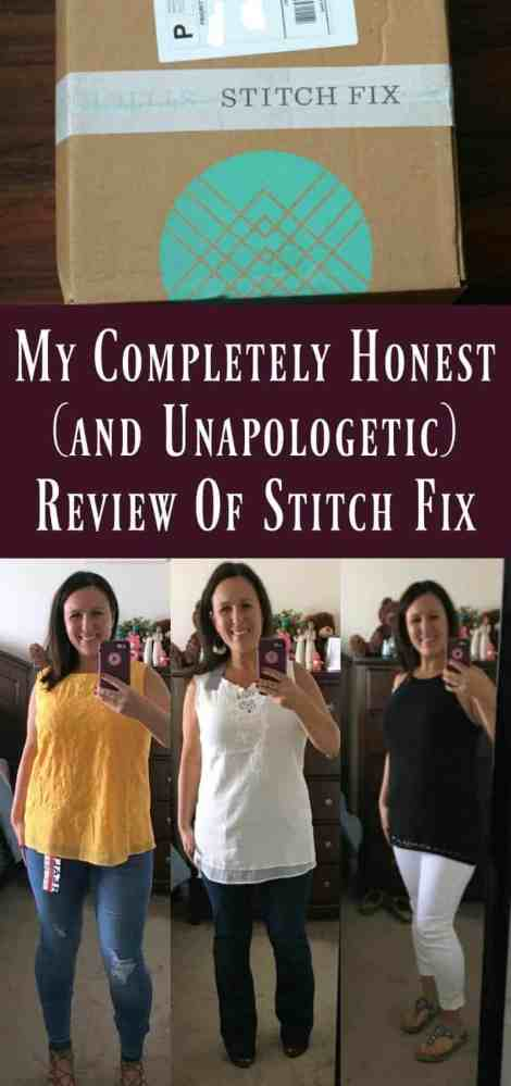 Honest Stitch Fix Review