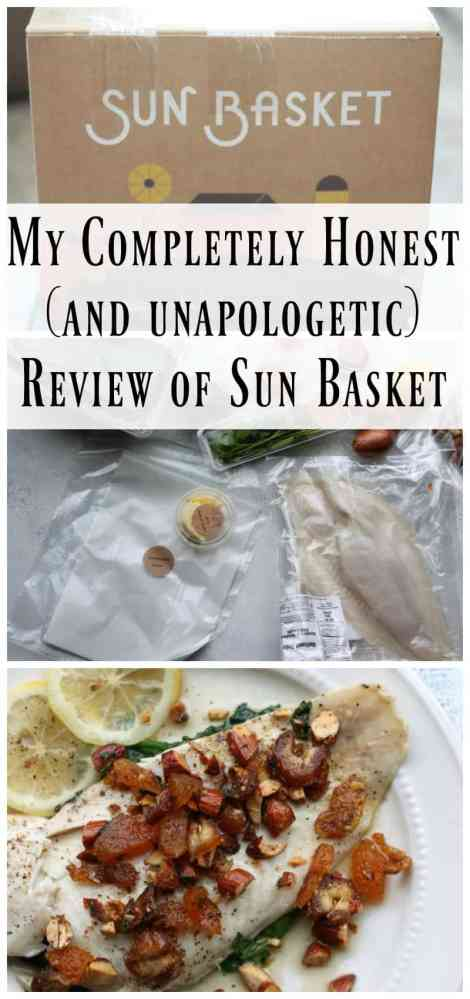 My Completely Honest (and unapologetic) Review of Sun Basket