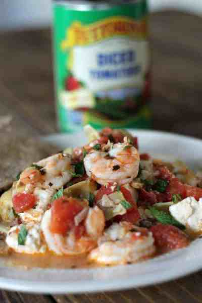 One-pot Greek Shrimp