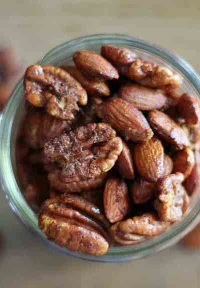 Maple Cinnamon Holiday Nuts