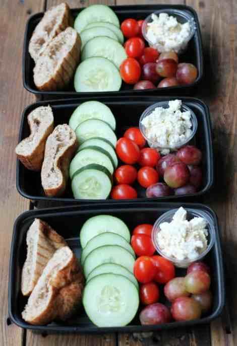 Easy Meal Prep: Greek Snack Boxes