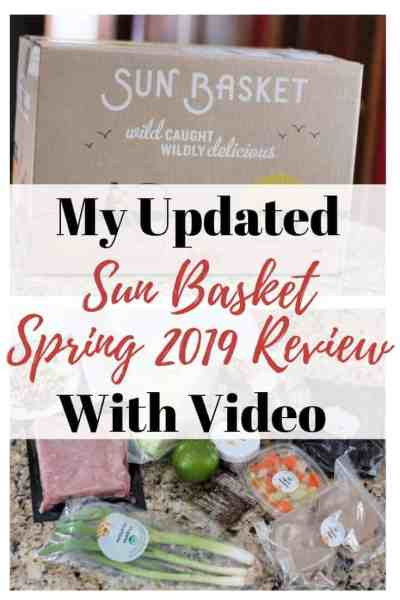 Sun Basket Review: Spring 2019 (plus a video)