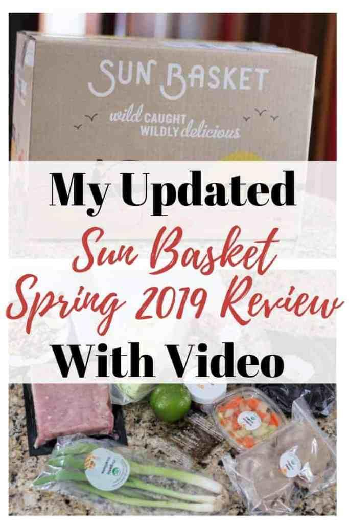 Sun Basket Review March 2019