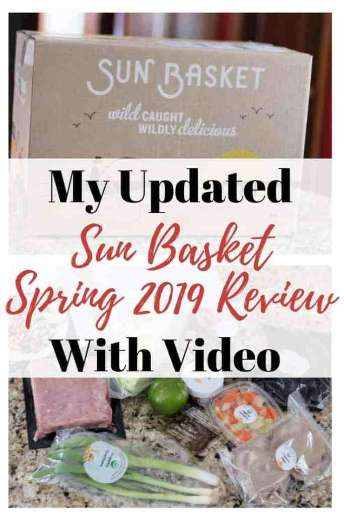 Sun Basket Review March 2019