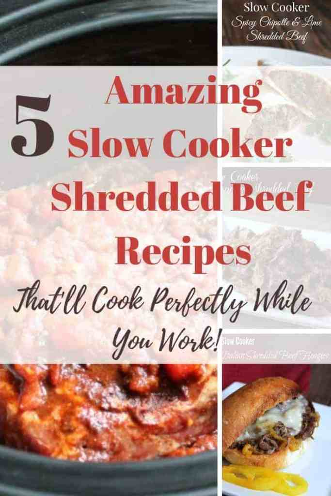 shredded beef slow cooker recipes