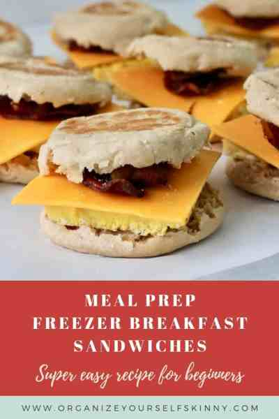 Frozen Breakfast Sandwiches