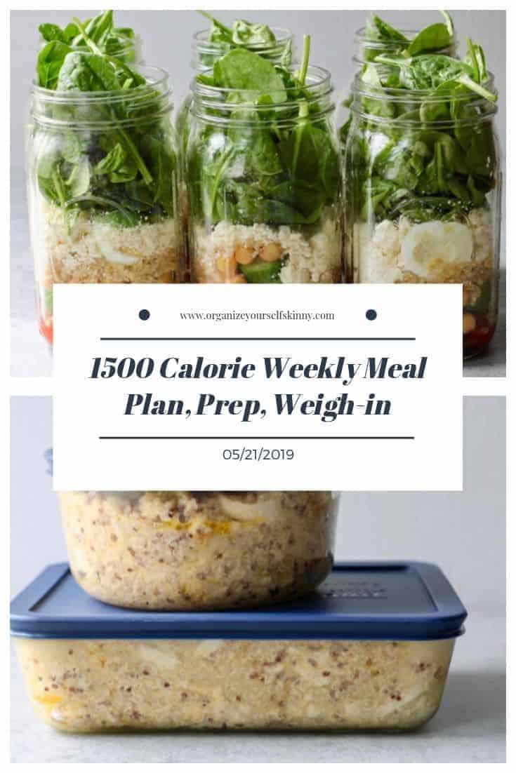 weekly 1500 calorie meal plan