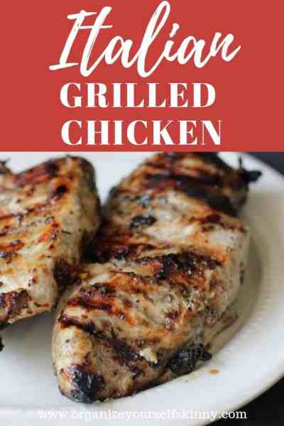The Best Italian Grilled Chicken