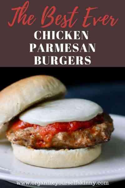 The Best Ever Chicken Parmesan Burgers