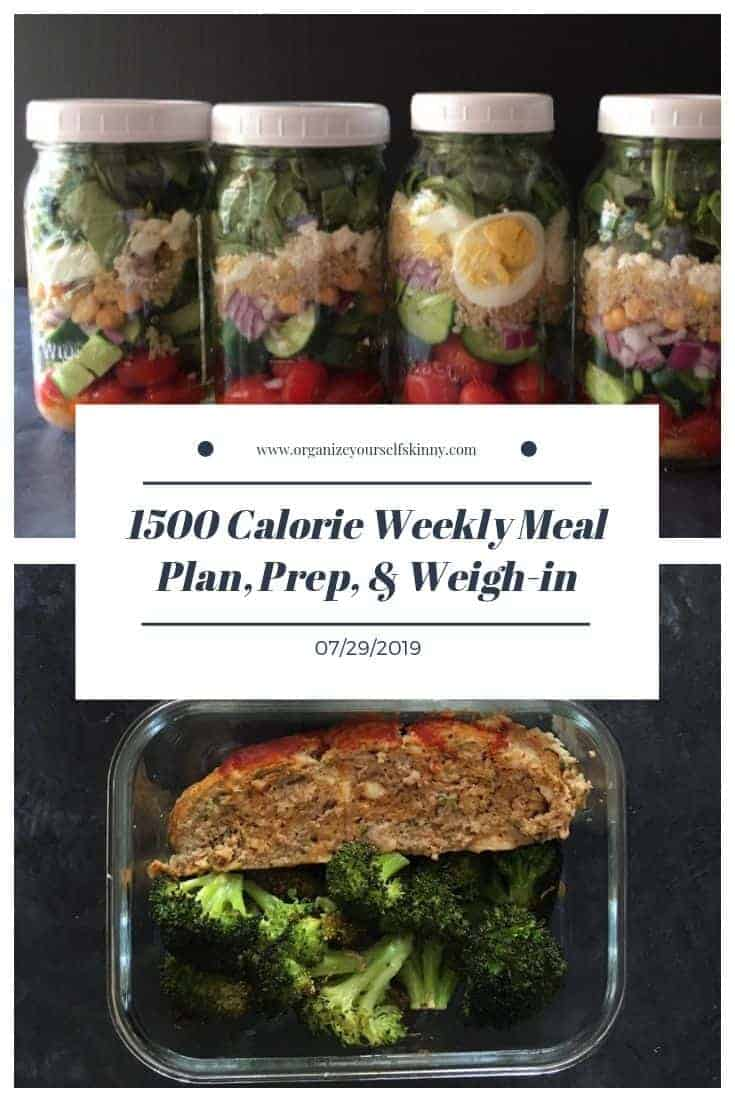 1500 Make-ahead meal plan