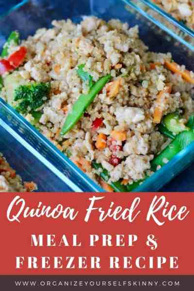 Quinoa Fried Rice: Easy Meal Prep Recipe