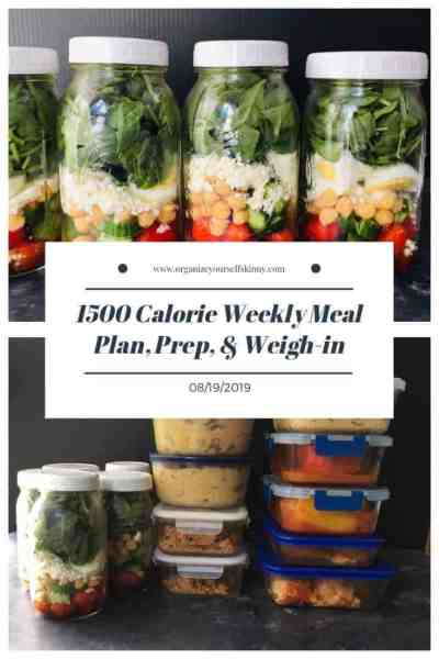 Weekly family friendly make-ahead meal plan