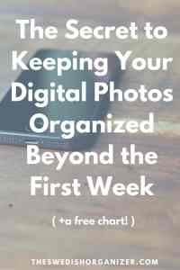 Your Workflow is the Secret to Keeping Your Digital Photos Organized!