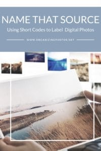 Name That Source: Using Short Codes to Label Digital Photos