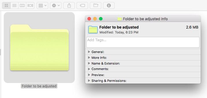 Color-Coding Fun, Part 1 - Customizing Your Folders on a Mac | OrganizingPhotos.net