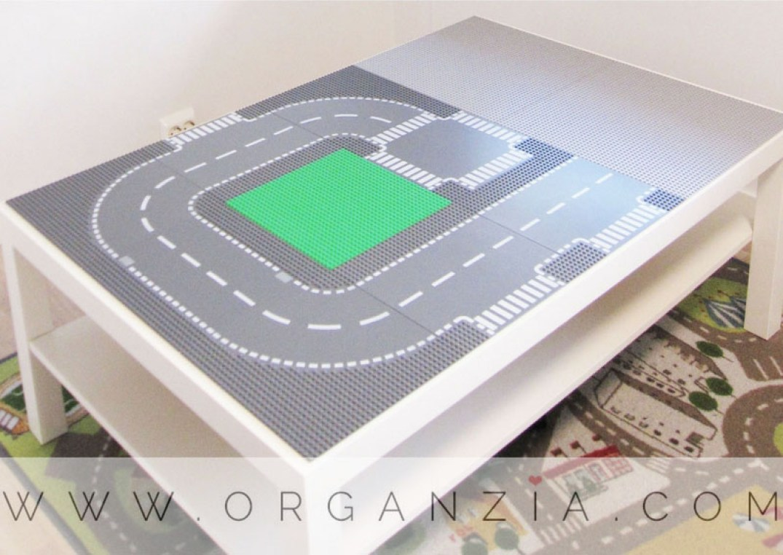DIY Lego table simple Ikea Hack