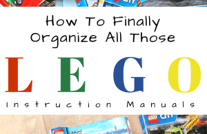 How To Organize Lego Instruction Manuals