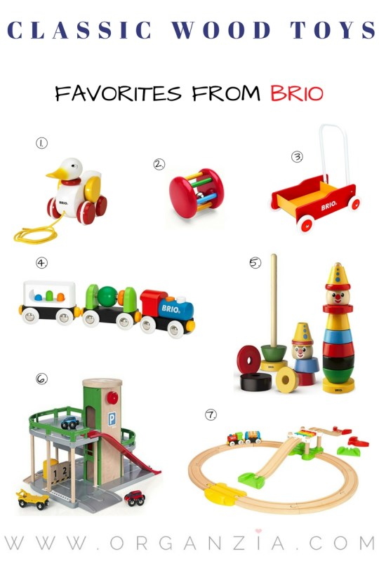 My top 7 wood toys favorites from Brio