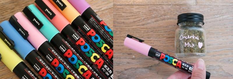 Posca pastel marker set
